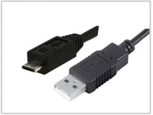 Cordon USB 2.0 type A Male / Micro USB type B Male
