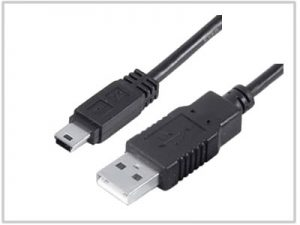 Cordon USB 2.0 type A Male / Mini USB type B Male