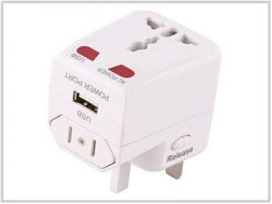 Chargeur universel de voyage USB 500mA