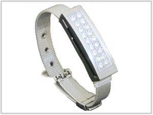 Clé USB Bracelet Argent - 4 Go