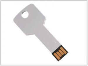 Clé USB Clé Grise - 4 Go