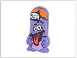 Clé USB Nano Violet - 4 Go