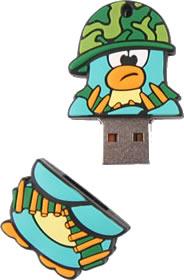 Clé USB Pingouin Soldat - 4 Go