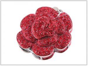 Clé USB Rose Rouge - 4 Go