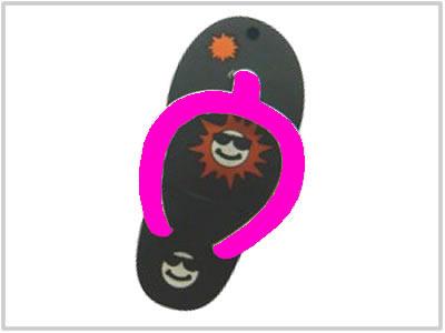 Clé USB Tongue Noire - 2 Go