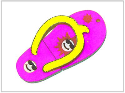 Clé USB Tongue Rose - 2 Go