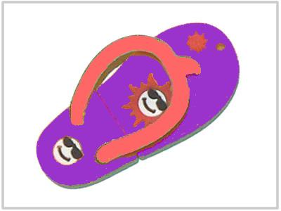 Clé USB Tongue Violette - 2 Go