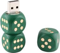 Clé USB Triple dés - 4 Go