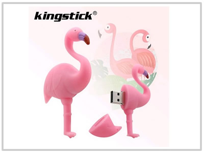 Clé USB Flamand rose - 8 Go