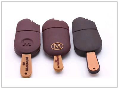 Clé USB Glace chocolat - 8 Go