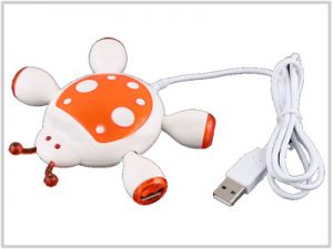 Hub USB 2.0 - 4 ports Coccinelle