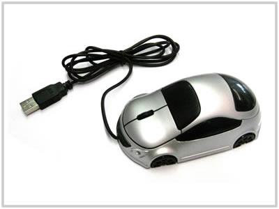 Souris optique voiture Grise