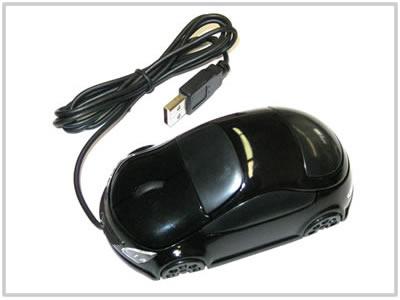 Souris optique voiture Noire